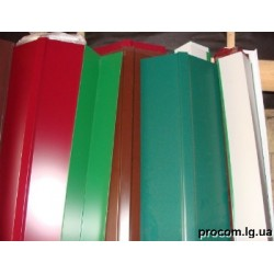 Чипец металлический цветной 0,45мм, длина  2м