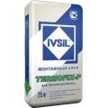 Клей для пенопласта прикл.+армир. IVSIL Термофикс-П 25кг