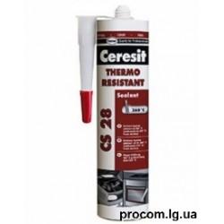 Герметик Церезит CS28  термостойкий 300 мл