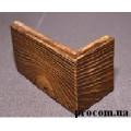 Угол для камня декоративный гипсовый WDU-050 (коричн.) 0,55 м.пог.