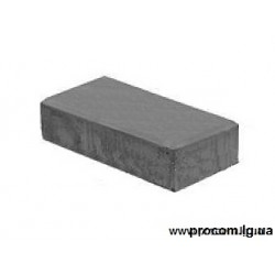 Тротуарная плитка Кирпич 20х10х4,5 см Серый АКЦИЯ!!!