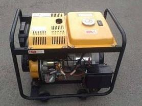 Генератор дизельный FORTE 5,0 кВт FGD6500E3